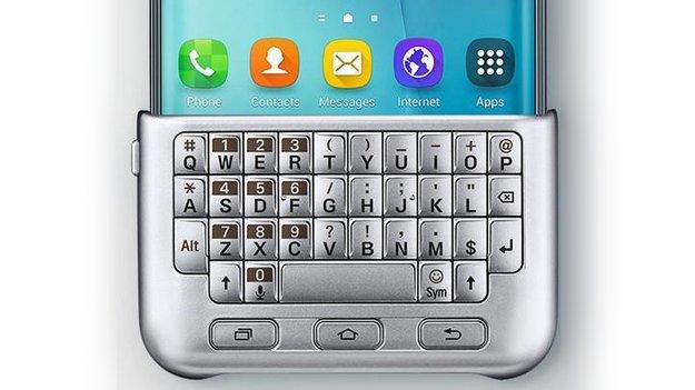 Samsung Galaxy S6 edge+ mit Tastatur-Case gesichtet [Gerücht]