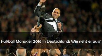 Fußball Manager 2017 in Deutschland: Gibt's nicht? Gibt's doch!