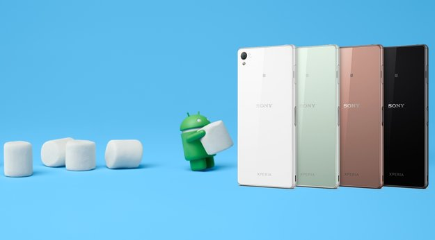 Sony: Xperia Z5-Reihe, Z3 Plus und Z4 Tablet erhalten Marshmallow