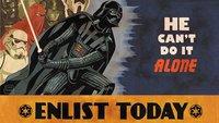 Star Wars: So müssen Propaganda-Plakate aussehen!