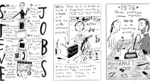 """Steve Jobs: Insanely Great"":  neue Comic-Biografie"