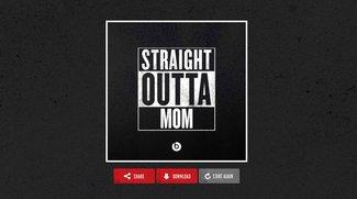 """""""Straight Outta Compton"""": Eigene Bilder für Facebook und Co. selber machen"""