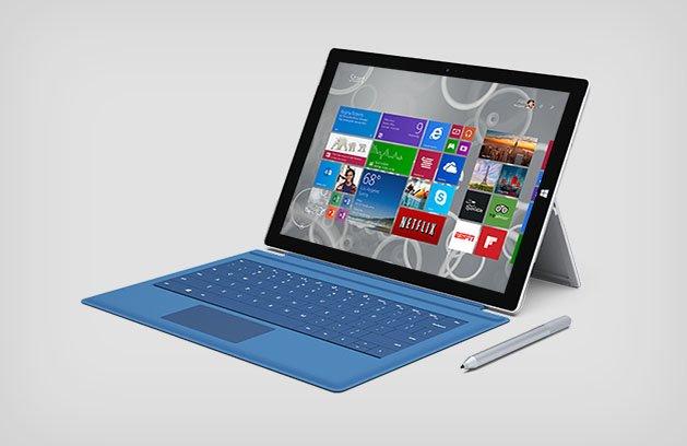 Das Surface Pro 3 kommt mit ordentlicher Hardware und lässt sich per Touch, Stylus und Tastatur bedienen.