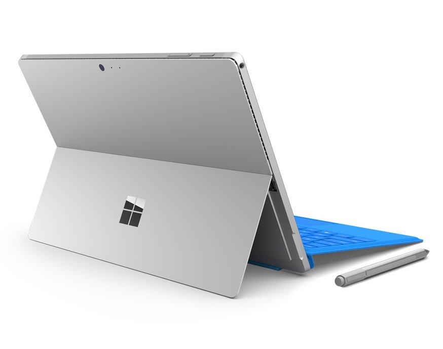 Das Surface Pro 4 ist ein Highend-Laptop, der sich auch als Tablet bedienen lässt.