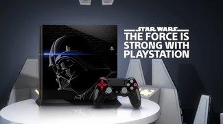 Star Wars Battlefront: Zwei PS4-Bundles im Darth-Vader-Design angekündigt