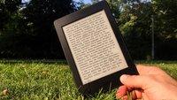 Kindle: Gutschein für Ebooks