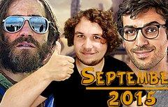 SEPTEMBER 2015 – Das kommt im...