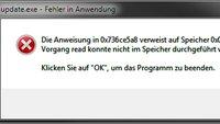 update.exe - Fehler in Anwendung seit Windows 10 – Was tun?