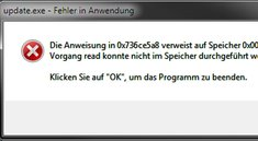 update.exe - Fehler in Anwendung seit Windows 10 – Was tun?