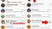 WhatsApp: Nachrichten als ungelesen markieren – so geht's