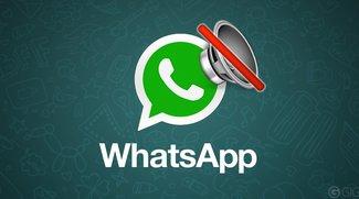 Einzelne WhatsApp-Chats auf lautlos stellen, so geht's auf dem iPhone