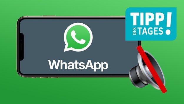 Einzelne WhatsApp-Chats auf lautlos stellen, so gehts auf dem iPhone
