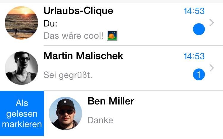 Whatsapp Nachrichten Auf Dem Iphone Als Ungelesen Markieren So