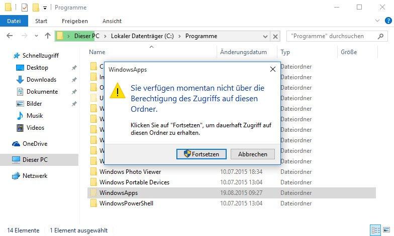 Windows 10: Speicherort von Apps öffnen – so geht\'s bei verweigertem ...