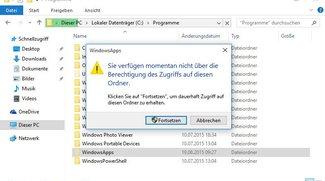 Windows 10: Speicherort von Apps öffnen – so geht's bei verweigertem Zugriff