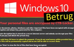 Windows-10-Betrug per E-Mail:...