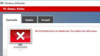 Windows 10: Defender deaktivieren (& mit Fall Creators Update)