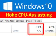Windows 10: Hohe...