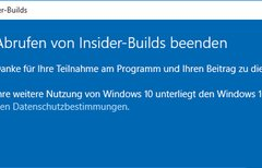Windows 10: Insider Program...