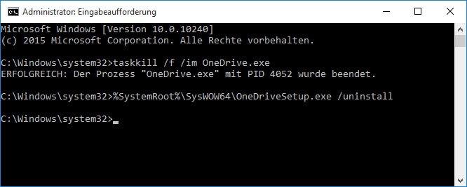 Windows 10: So deinstalliert ihr OneDrive komplett.