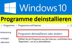 Windows 10: Programme...