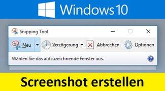 Windows 10, 7, 8: Screenshot erstellen – So geht's