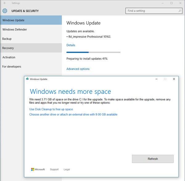 Windows 10 Kann Auch Installationsdateien Für Updates Auf Andere  Datenträger Auslagern. Bildquelle: ZapellaT Design Ideas