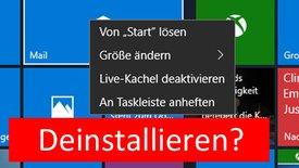 Windows 10: Standard-Apps deinstallie...