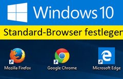 Windows 10: Standardbrowser...