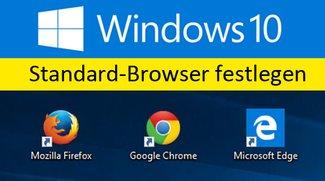 Windows 10: Standardbrowser festlegen – So geht's
