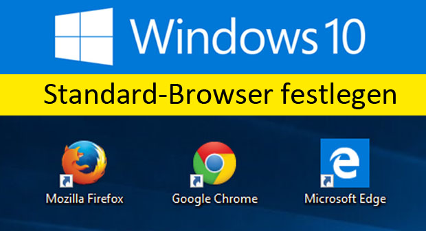 standard browser festlegen