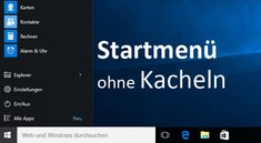 Windows 10: Kacheln entfernen – so geht's