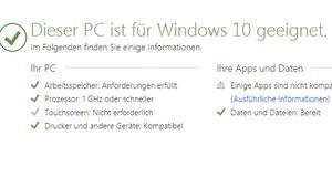 Windows 10 Upgrade Advisor