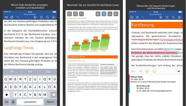Microsoft Office-Apps für iOS: Updates erleichtern Datenaustausch via Outlook