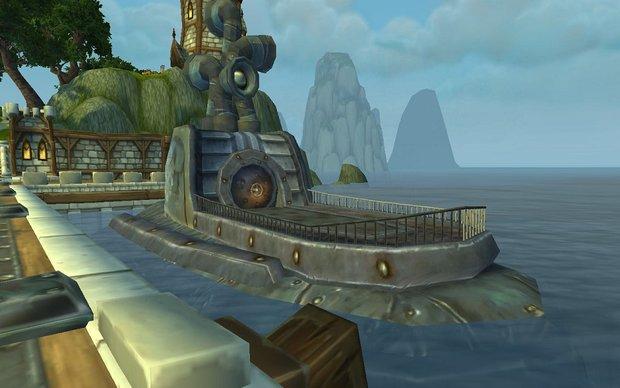 World of Warcraft: U-Boot – so kommt ihr in das Allianz-U-Boot im Hafen