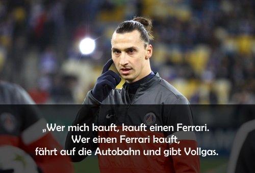 Die besten Sprüche von Zlatan Ibrahimovic: Zlatanisierte ...