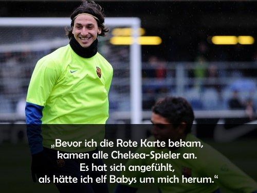 Zlatan Ibrahimovic Sprüche Zlatanisierte Zitate