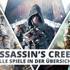 Assassin's Creed: Alle Spiele in der Übersicht!