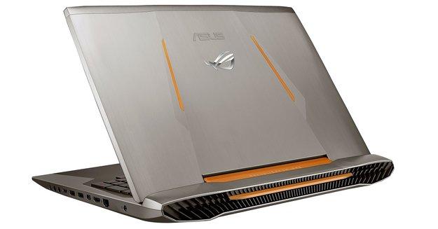 Asus ROG G752 Gaming-Notebook mit UHD-Display vorgestellt
