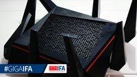 Asus RT-AC5300: Schnellster WLAN-Router der Welt im Hands-On Video (IFA 2015)
