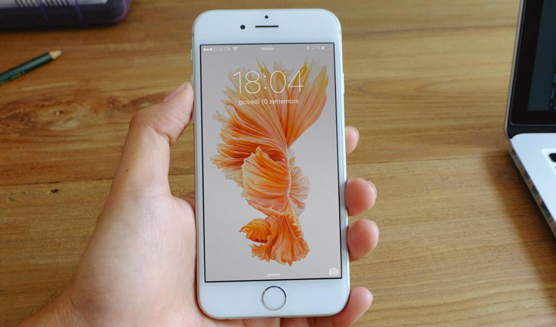Das Sind Die Animierten Hintergrundbilder Im Iphone 6s Giga