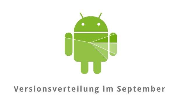 Android im September: Lollipop knackt die 20 Prozent-Marke