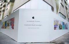 Belgiens erster Apple Store...