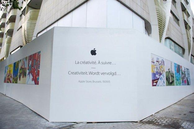 Belgiens erster Apple Store öffnet am 19. September in Brüssel