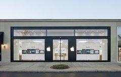 Erste Apple Stores der...