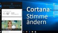 Cortana: Stimme ändern in Windows 10 – Geht das?