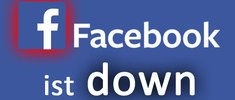 Facebook down: Something went wrong – Das könnt ihr tun