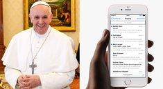 Papst Franziskus könnte iPhone-Lieferungen in den USA verzögern