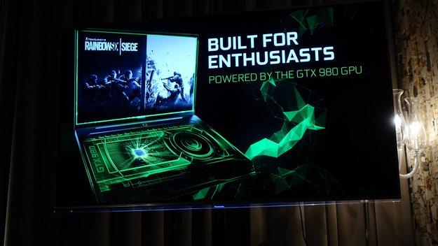 Nvidia GeForce GTX 980: Desktop-GPU für Notebooks vorgestellt