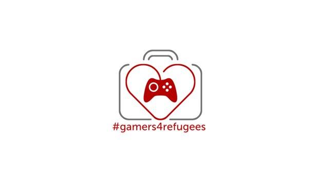 Gamer helfen Flüchtlingen #gamers4refugees